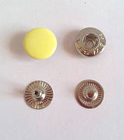 Кнопка №54 - 12,5 мм эмаль № 108 желтая