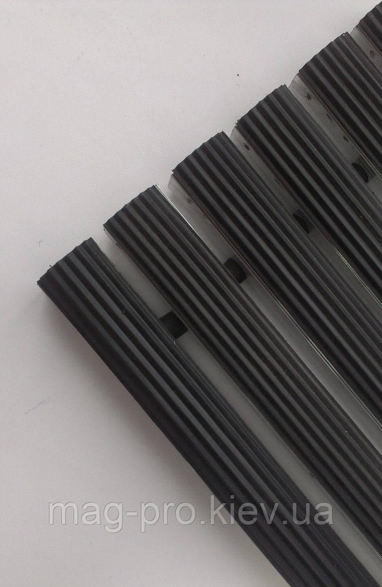 Грязезащитная решетка ЛЕН наполнение (резина)