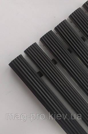 Грязезащитная решетка ЛЕН наполнение (резина), фото 2