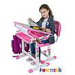 Комплект парта и стул-трансформеры FunDesk Bambino Pink, фото 4