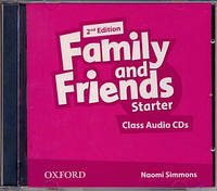 Аудио диски к Family and Friends Starter Second Edition - Class Audio CDs (2 шт.)