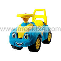 """Машинка для прогулок """"Технок"""" голубая 65*29*27см"""