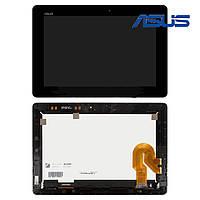 Дисплейный модуль (+ сенсор) для Asus Transformer Pad Infinity TF701, с рамкой, черный, оригинал