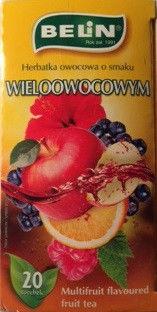 Чай Belin Белин Wieloowocowym (мультифруктовый) 40 г. Польша