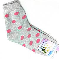 Носки женские СМАЛИЙ,х/б,махровые с резинкой, размер 23-25
