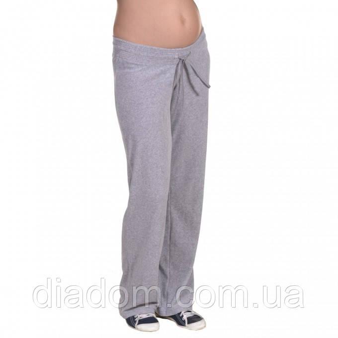 Штаны велюровые для беременных и кормящих мам велюровые