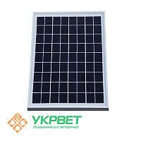 Солнечная панель для электроизгороди 15 Ват