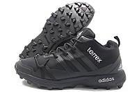 Кроссовки мужские Adidas Terrex зимние черные (адидас)