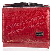 Малюсенький элитный надежный женский кожаный кошелек высокого качества Bodenschat art. 2186-44 красный лак, фото 1