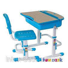 Комплект парта и стул-трансформеры FunDesk Capri Blue, фото 3