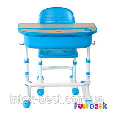 Комплект парта и стул-трансформеры FunDesk Capri Blue, фото 2