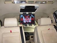 Установка аудио-видео аппаратуры в Volkswagen Multivan