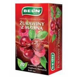 Чай Belin Zurawiny z Malina (малина)