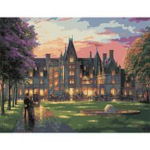 Набор для рисования картины Праздничный вечер в замке