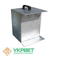 Металлический ящик для электризатора и аккумуляторных батарей