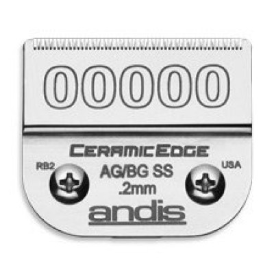 Нож для машинки Andis #00000 Ceramic Edge 0,2 мм