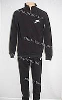 Cпортивный мужской костюм  Nike  трикотаж черный