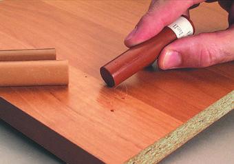 Реставрация мебели. Устранения царапин 2