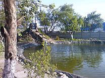 Строительство искусственного пруда 3000м3 с водопадом.