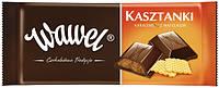 Шоколад Wawel Kasztanki (молочный с вафлей) 100 г. Польша