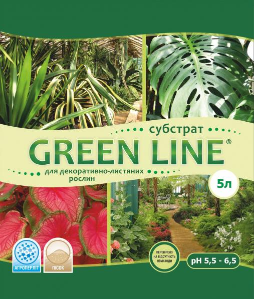 Субстрат для декоративно-лиственных Грин Лайн 5л