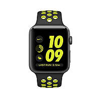 Apple Watch Nike+ 42mm Space Gray Aluminum Case with Black/Volt Nike Sport Band (MP0A2), фото 1