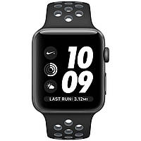 Apple Watch Nike+ 42mm Space Gray Aluminum Case with Black/Cool Gray Nike Sport Band (MNYY2), фото 1