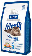 Корм для кошек живущих в доме с курицей и рисом Brit Care Cat Monty Indoor