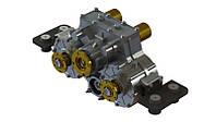 Сплит вал (Split shaft) отбора мощности (редуктор) горизонтальный с внутренним тормозом