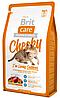 Brit Care Cat Cheeky I am Living Outdoor 2кг -для кошек живущих на улице