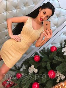 Бандажное платье 1162