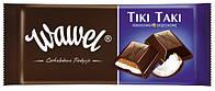 Шоколад Wawel Tiki Taki  (молочный с кремово-кокосовой начинкой) 100 г. Польша