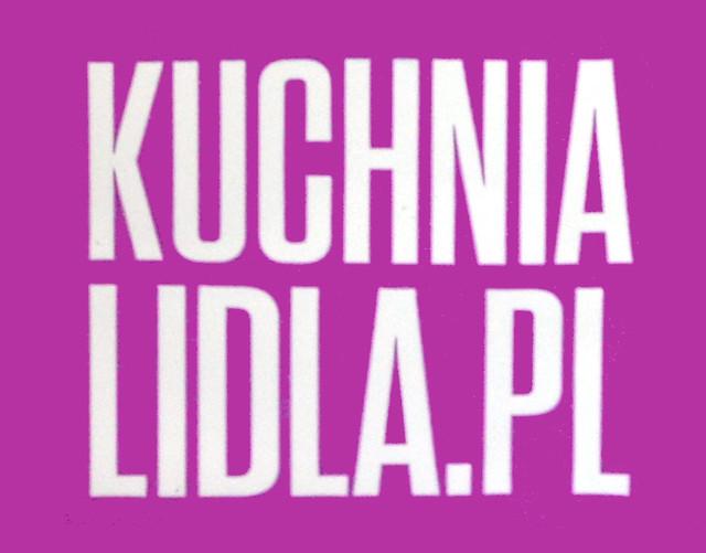 KUCHNIA LIDLA.PL