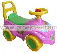 """Машинка для прогулок """"Технок"""" розовый 55*27*25см"""
