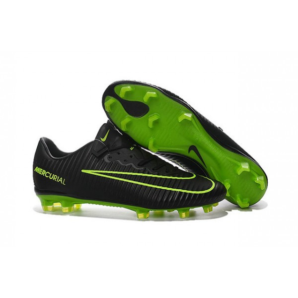 Мужские бутсы Nike Mercurial Vapor XI CR FG black green