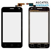 Touchscreen (сенсорный экран) для Alcatel One Touch 4024D Dual Sim, черный, оригинал