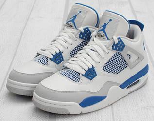 Кроссовки женские Nike Air Jordan 4 / AJW-028 (Реплика)