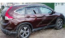 Вітровики вікон Хонда СРВ 4 (дефлектори бокових вікон Honda CR-V 4)