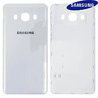 Задняя крышка батареи для Samsung Galaxy J5 (2016) J510, белая, оригинал