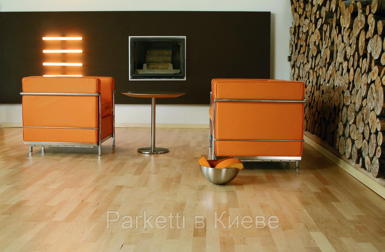 Паркетная доска Baltic Wood Клен европейский Comfort 3R 3-пол., лак полумат.