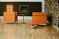 Паркетная доска Baltic Wood Клен европейский Comfort 3R 3-пол., лак полумат., фото 1