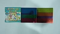 """Мозаика-открытка """"Святкові Паєтки.4 Вітальні листівки""""из наклеек,264шт,12ст, 3+,ТМ Ирис.Книга -мозаїка з наліп"""