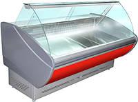 Вітрина холодильна ТЕХНОХОЛОД КАРОЛІНА 1,4 гнуте скло