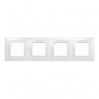 Рамка 4 поста Белый Schneider Electric Unica Basic