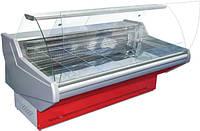 Вітрина холодильна ТЕХНОХОЛОД МІНЕСОТА 2,5 гнуте скло, фото 1