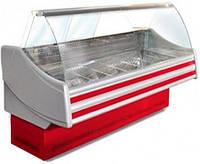 Вітрина холодильна ТЕХНОХОЛОД СОНАТА 1,6 гнуте скло, фото 1