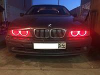 CCFL Ангельские глазки на BMW E36, E38, E39, Е46 (с линзой) Красные