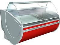 Вітрина холодильна ТЕХНОХОЛОД ФЛОРИДА 2,5 гнуте скло