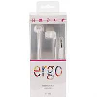 Вкладыши Ergo VT-901 white