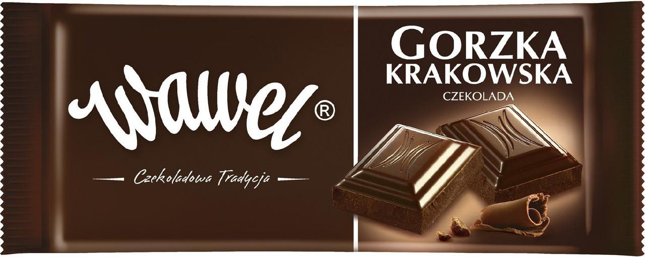 Шоколад Wawel Gorzka (Вавель чорный) 100 г. Польша